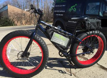 Electric Fat Tire Bicycle