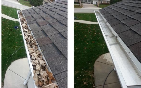 GUTTER CLEANING SERVICES FROM MGM Household Services