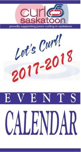 Curl Saskatoon Calendar of Events