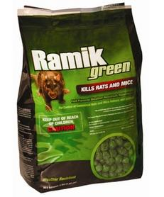Ramik Rodenticide Extruded Pellet Packs 4-lbs