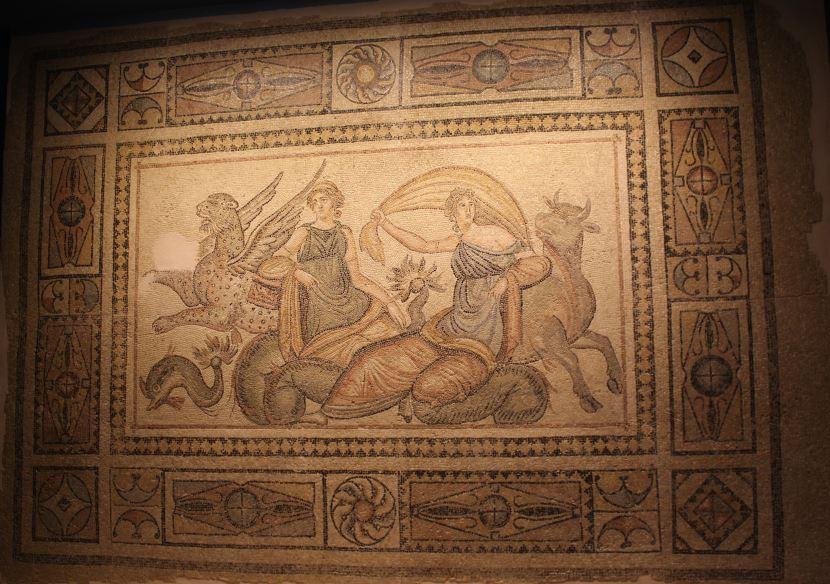 Zeugma Europa Mozaiği.