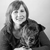 Denver pet photographer Deanna Hurt and her dog Boo Radley