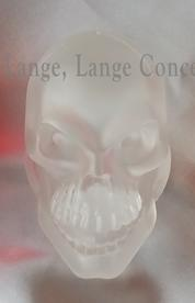 "Skulls Clear Frosted 2 3/8"" lenses"