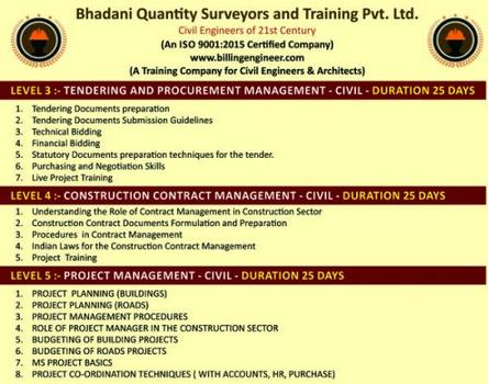 BILLINGENGINEER COURSE FOR CIVIL ENGINEERS
