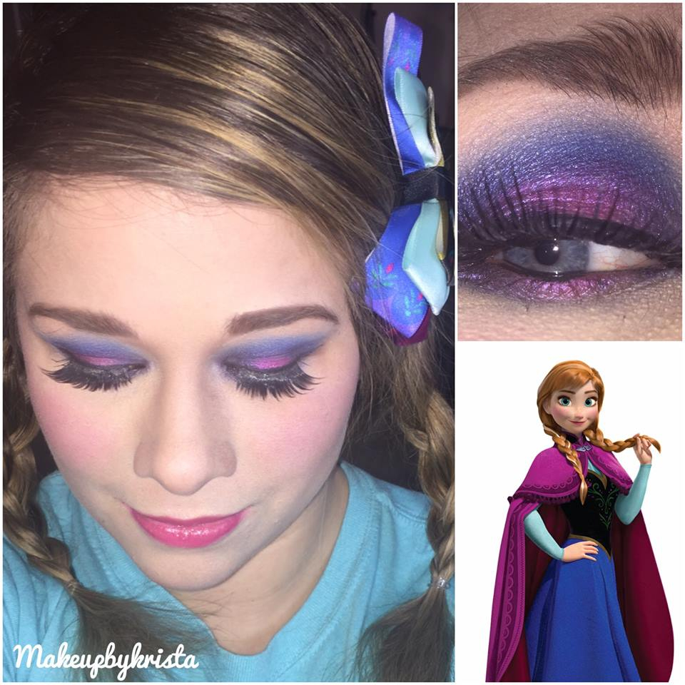Inspired makeup looks frozen inpsired baditri Image collections