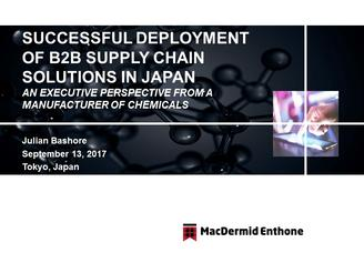 Japan Supply Chain Summit