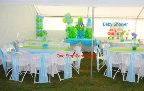 MONSTERS INC BABY SHOWER DECORATION