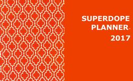 Tennessee Orange SuperDope Planner