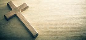 Our Purpose - Wood Cross on Desk