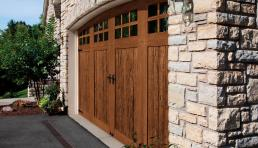 wood look garage doors Phoenix