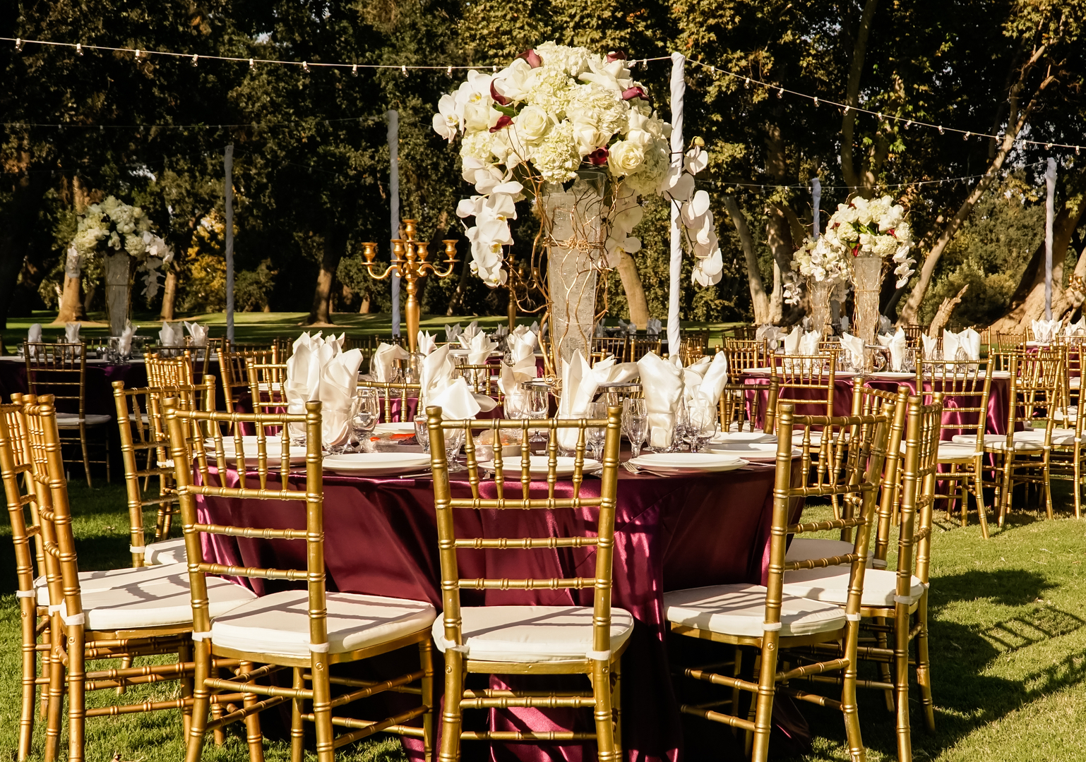 photo booth draping lighting table chairs in wedding and party