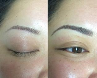 3D Hair Strokes, microblading, eyebrow tattoo, semi perminant brows ...