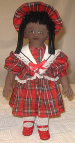 Lucillin all cloth play doll