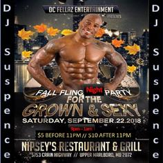 Grown & Sexy Day Party
