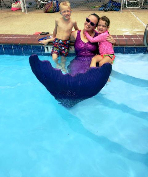 Siren Swerve With The Water Babies On Grand Caillou Pool Family Day 2015