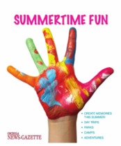Summertime Fun Insert May 25, 2017 Keep this annual resource