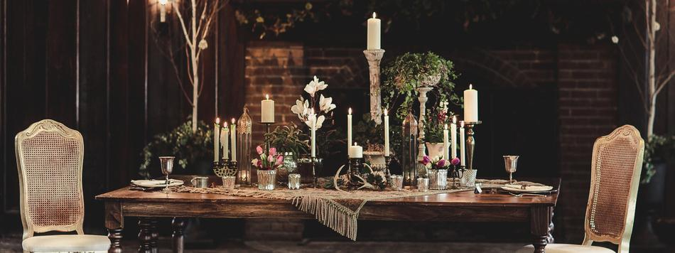 Gorgeous Bohemian Wedding Table at Theodore Wirth Chalet