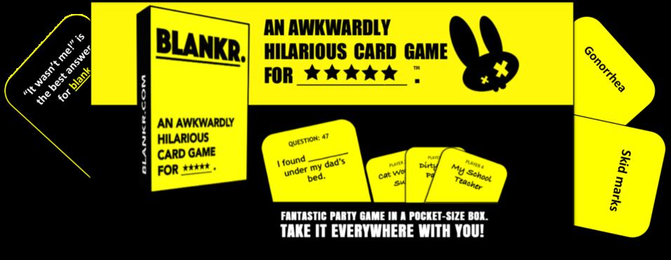 blankr card game