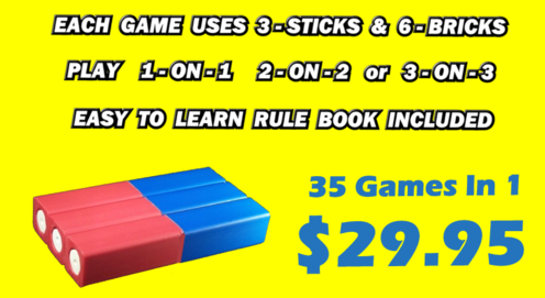 www.kubb.games plastic colorful kubb sets made in the USA - beach game - backyard game - tailgate game - party sport game - 35 kubb games in 1 - bocce kubb - bowling kubb - beer pong kubb - golf kubb - lawn darts kubb - ladder ball kubb - horseshoes kubb - washers kubb - shuffleboard kubb - cornhole kubb - coob 35 - coob35