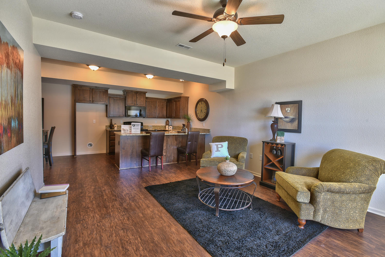 Vaulted Master Bedroom With Private Bath And Walk In Closet 2 Secondary Bedrooms Closets Full Hall Laundry Room