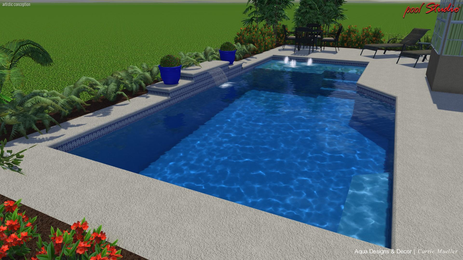 Aqua Designs & Decor of Bradenton, Fl : Custom Pool Designs