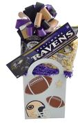 Ravens Football Gift Basket