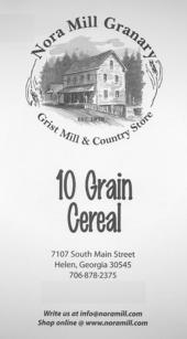 Nora Mill 10 Grain Cereal Recipes