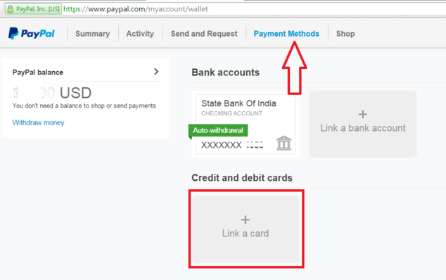 How to add money to paypal account india : Eth rate