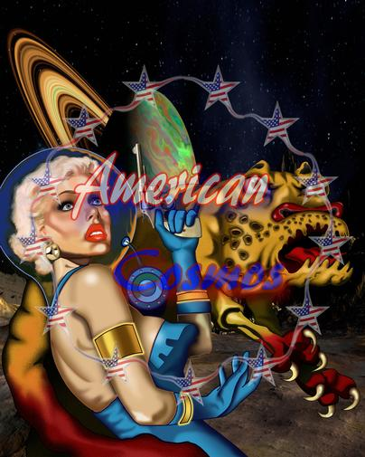 american cosmos cosmic image