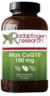 Adaptogen Research, Max CoQ 10 100 mg