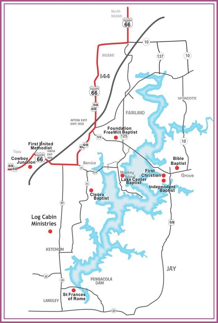 Grand Lake Ok Online Visitor Guide Miami Grove Langley