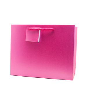 pink paper bag for underwear