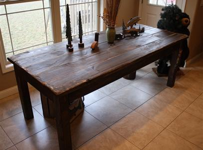 Farmhouse tables - Surprising dining room and kitchen decoration with various cool kitchen table ...