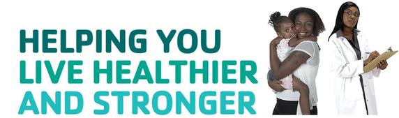 YMCA Banner - Helping you live healthier and stronger.