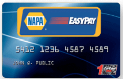 nap care easy pay card