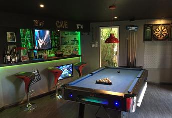Ideas and inspiration l robertson garden rooms image of a robertson garden rooms games room man cave entertainment room family workwithnaturefo