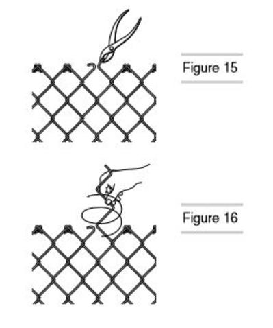 remove excess chain link