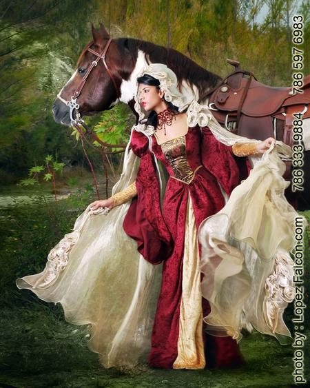 quinceanera theme with horse miami photography dresses
