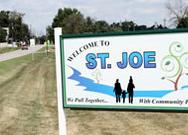 Signage, Town of St. Joe, Indiana