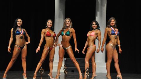 Aba inba Pnba Natural Bodybuilding Bikini Sports Model Ms