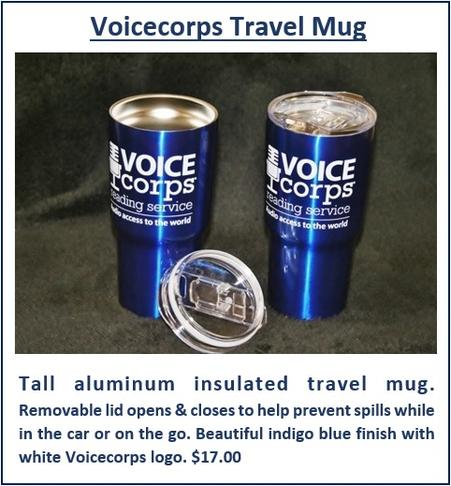 VOICEcorps Insulated Travel Mug