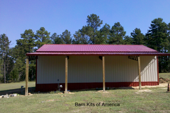 Barn kits of america barn kit sales barn garage for Barn packages for sale