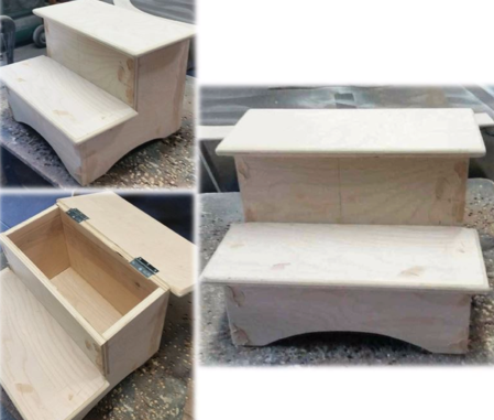 Step Stool with Storage