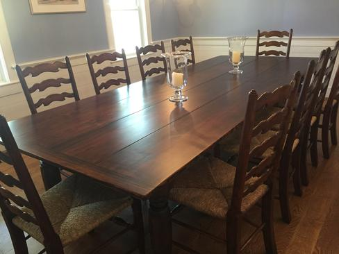 table dimensions in feet classic antique pine tables