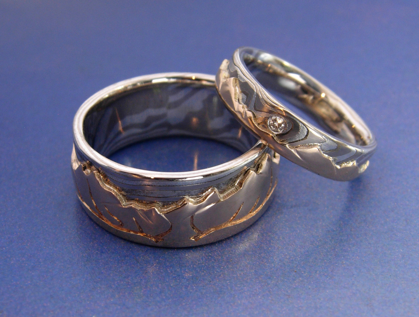 listing carved canadian il au fullxfull claw zoom hand wedding custom rings platinum iridium