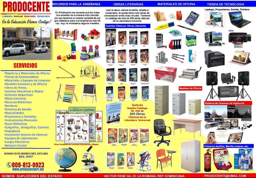 Catalogo productos for Modelo de catalogo de productos
