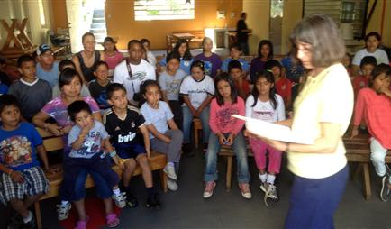 Mission team outreach, Vacation Bible Study, Guatemala