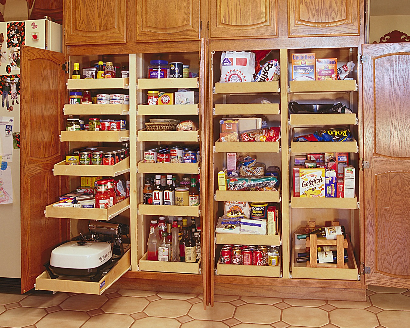 Maple Pantry Cabinet Improved Storage Design Inc Pull Out Cabinet Shelves Cabinet