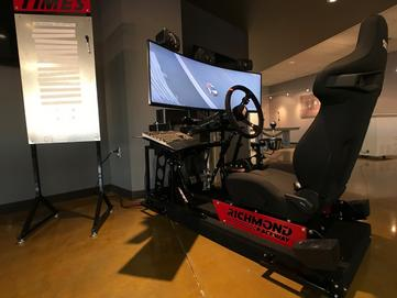 Sim Seats driving simulators richmond raceway