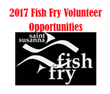 2017 Fish Fry Volunteers